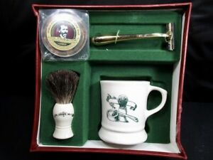 Col Ichabod Apothecary Style Shaving Set In Original Box
