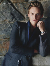 Eddie Redmayne 6pg INSTYLE magazine feature, clippings