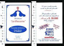 "GELATERIA ""LA PIAZZETTA"" - PRODUZIONE ARTIGIANALE - VIA SAFFI RIMINI - 56486"