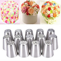 Russian Icing Piping Nozzle Tip Cake Decorating Sugarcraft Pastry Tool 14Typ  UP