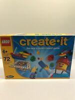 Lego Create It Board Game 1999 RoseArt #3093 Complete