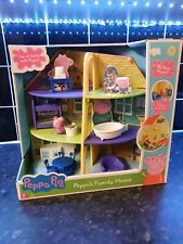 Peppa Pig Peppa's Deluxe Family Home House Playset With Figure Toy Kids Playset