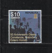 REP. DOMINICANA. Año: 2009. Tema: 50º ANIV. DEL DESEMBARCO EN CONSTANZA.