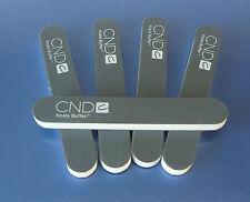 CND KOALA NAIL FILES PACK of 5,  240/1200 GRIT black acrylic uv gel