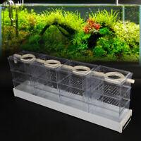 Aquarium Water Box DripTube External Filter Fish Tank 6/12/18 Drawer Clear Box