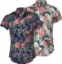 Unbranded Slim Floral Casual Shirts & Tops for Men