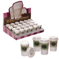 Lip Gloss in Fun Takeaway Coffee Cup Holder