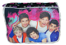 ONE DIRECTION MESSENGER BAG Harry Styles Louis Tomlinson School tote