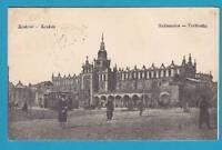 594 ▶ AK Krakow Krakau Tuchhalle Sukiennice Proschwitz Gablonz 1914