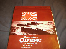 """A HISTORICAL SIMULATION GAME  """"OPERATION OLYMPIC"""""""