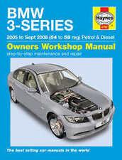 BMW SERIE 3 Riparazione Manuale Haynes Manuale Officina Servizio Manuale 2005-2008 4782