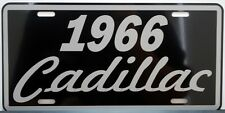 1966 66 CADILLAC METAL LICENSE PLATE ELDORADO COUPE DE VILLE SEDAN FLEETWOOD