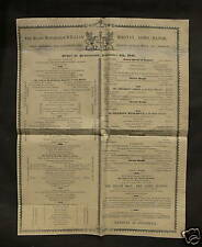More details for 1843 lord mayor of london - order of procession poster