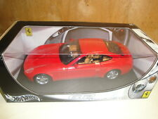 1/18 HOT WHEELS,FERRARI 612 SCAGLIETTI con box