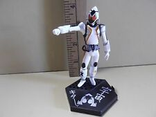 "#A344 Kamen Rider Anime 4""in White Uniform Orange Eyes Masked Figure"