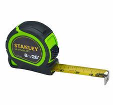 Stanley STA033728 Fatmax 8 M 26 ft Ruban à mesurer 3 Rivet Métrique Seulement 0-33-728 environ 7.92 m