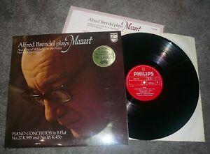 6500 948- MOZART - PIANO CONCERTOS No.27 & No.18 - BRENDEL - NM VINYL