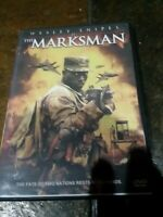 The Marksman (DVD, 2005) Wesley Snipes  The fate of 2 nations rests in his hands