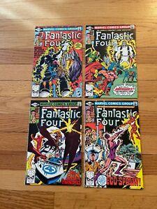Fantastic Four #227 #228 #229 #230 Marvel Comics Bronze Age Thing 1980 U
