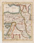 1768 Attractive Buffier Map of Turkey, Cyprus, Middle East