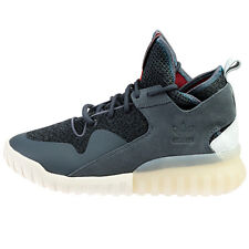 Adidas Originals Mens Boys Tubular X Hi Top Shoes Grey AQ5403 UK 5.5, 11.5