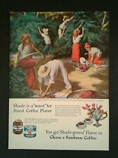 """1946 Chase & Sanborn """"Coffee Harvest"""" Lawrence Beall Smith Painting~Art Print Ad"""