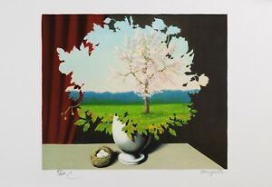 Rene Magritte - Plagiary (lithograph, plate-signed & numbered)