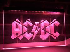 AC DC Band Music Bar Club LED Neon Light Sign Home Decoration Wall Crafts Sign