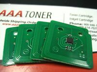 4 x Toner Reset Chip High Yield for Dell C7765dn Color Laser Printer Refill