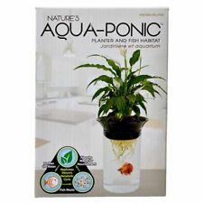 Lm Penn Plax Nature's Aqua-Ponic Planter & Fish Habitat