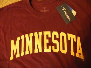 NCAA MINNESOTA Golden Gophers SHIRT/Fanatics/2XL/New - Tags