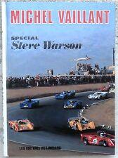Michel Vaillant spécial Steve Warson EO 1972 Comme neuf graton
