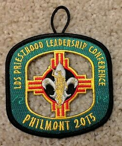 Philmont LDS Priesthood Leadership Conference 2015 patch