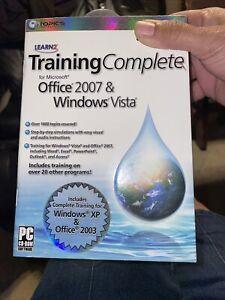 Training for Vista & Office 2007 - Excel Word Tutor...