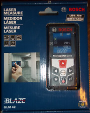 Bosch GLM 42 Blaze 135 Ft. Laser Measure with Full Color Display