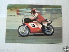 HARLEY-DAVIDSON 750 CC NO 3 TONY SMITH MOTO GRAN PRIX VINTAGE ORIGINAL POSTCARD