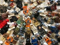 LEGO Bulk Minifigure Lot of 10 Random Mixed Star Wars Figures Free US Shipping