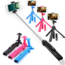 Selfie Stick Bluetooth Shutter Remote Camera Extendable for iPhone 7 7Plus 6 6S