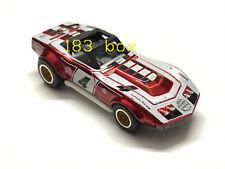 Hot Wheels 2019 Super Treasure Hunt STH '69 Corvette Racer red Loose Spun