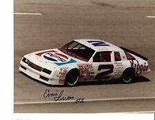 Autographed Ernie Irvan NASCAR Auto Racing Photograph