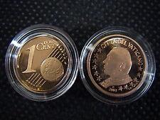 VATICANO 2003 n° 1 moneta da CENT 1 EUROCENT FONDO A SPECCHIO PROOF FS PP BE