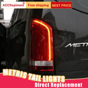 For Benz Metris V206 LED Taillights Assembly Red LED Rear Lamps 2016-2020