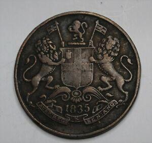 East India Company 1/4 Anna 1835   Y452