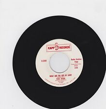 Paul Evans: What Are The Lips Of Janet 45 Rpm Promo