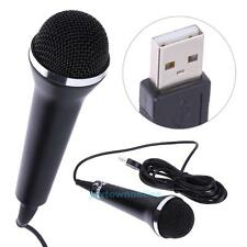 1PCS Universal USB Wired Microphone For PS2/PS3/Xbox One/Xbox 360/Wii/PC