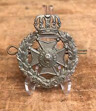 Antique Wwi Original Royal Rifles Volens Et Valens Canada Collar Badge