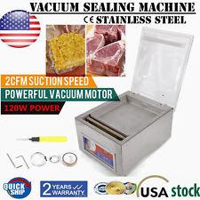 Commercial Vacuum Sealing Packaging Pack Machine Sealer Food Chamber Tabletop US