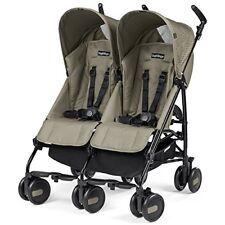 Peg Perego Pliko mini Twin Geo - silla doble de paseo plegable color beige