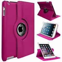 """Apple iPad 360 Rotating Stand Case Cover For iPad 5th Generation 9.7"""" / iPad 5"""