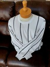 New Mens Pringle L or XL  Black Crewneck Sweater with Maize Lion Logo $90 value